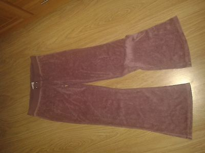 VGC age 11-12 velour lounge trousers