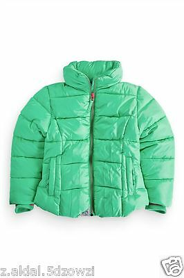 Green Padded Next Girls Winter Jacket Size 5-6,7-8,9-10, 13-14, 15-16 Y New _358