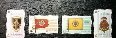 The Royal Hong Kong Regiment,1854-1995, Asia, Stamp Set of 4,MUH,#1430