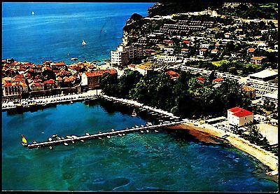 Harbour Budva - Italy  Aerial View Postally Used Stamp Intact