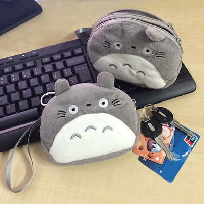 ​My Neighbor Totoro Soft Plush Wallet Card Bag