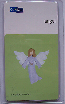 QuicKutz retired ANGEL C-KS-0205 Christmas Mythical Christmas 2 Die Cutters