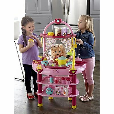 NEW Baby Alive Doll 3-in-1 Multi Functional Cook 'n Care Play Set #D84690
