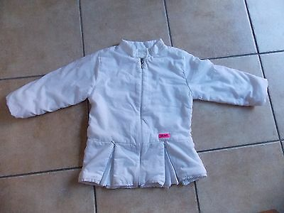 Girls Designer DKNY Puffa Jacket/Coat Age 5 Years 100% Authentic in Ex Cond