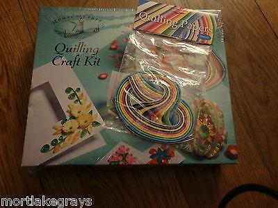 Quilling kit and spare paper BNIB