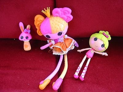 Large Lalaloopsy Doll With Rabbit And Smaller Doll