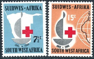 SOUTH WEST AFRICA Sc#295-296 1963 Red Cross OG Mint Hinged