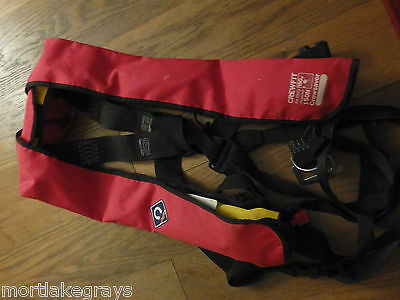 Crewfit Air only 150N Crewsaver Life Jacket Auto inflate EN396 with deck harnes