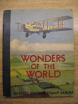 Nestle Wonders Of The World Picture Stamp Album 1932 (Complete) + Cadbury Letter