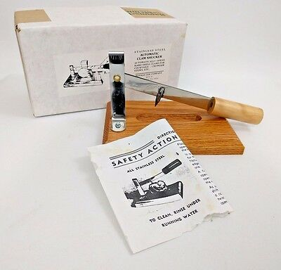 Vintage Automatic Clam/Oyster Shucker Opener Shellfish Ronald Lee - NEW