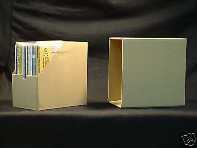 Mini LP CD Cardboard Storage Box for Paper Sleeve CDs Holds 15~20  CDs Securely
