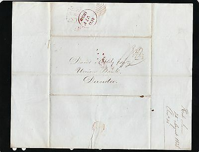 Great Britain 1838 Stampless Cover / lettersheet