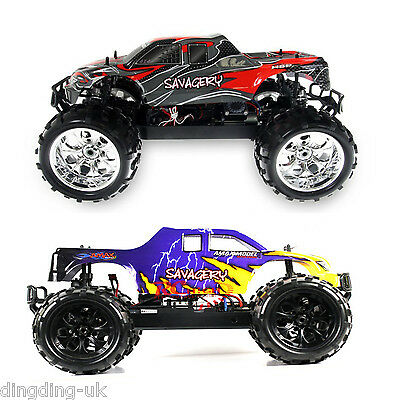 Radio Remote Control Car HSP 1/8 Fast 4WD Brushless  RC Monster Truck 2.4G UK