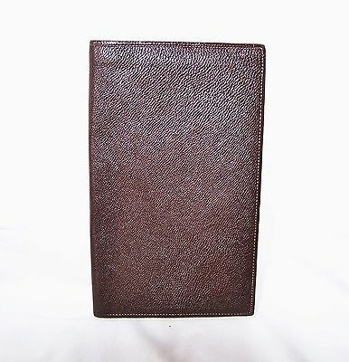 Vintage Leather Wallet, Soft Moroccon Leather, Dark Brown Colour
