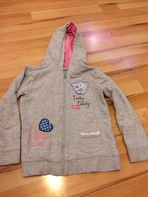 Kids / Girls - George Me To You Blue Nose Tatty Ted Hoodie Grey 5-6 Years