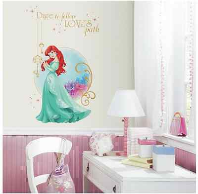 Disney Princess Ariel Peel and Stick Decor Wall Graphic Girls Bedroom Decal