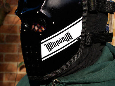 Army of Two v1 - Illuminati Airsoft BB Army Cosplay DJ Rave Mask - In Stock -