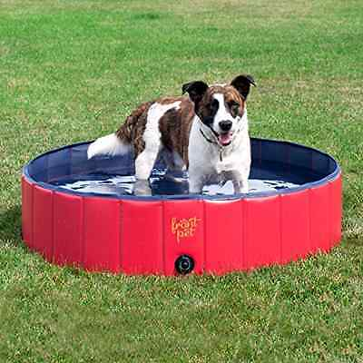 Frontpet Foldable Large Dog Pet Pool Bathing Tub (50 Inch X 11.8 Inch)