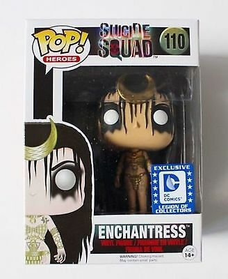 DC Legion of Collectors Suicide Squad Exclusive Enchantress Funko POP PreOrder