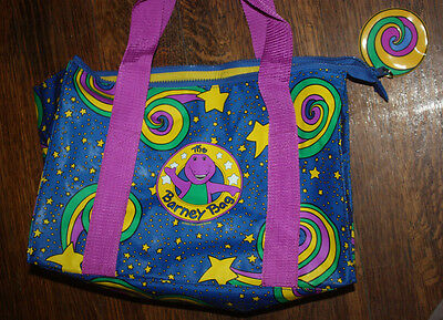 Vintage The Barney Bag 1994 / The Lyons Group / Amazing Condition! Colorful Fun