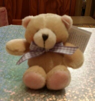 Forever Friends 'Nursery Collection' Finger Puppet Bear, with Tags