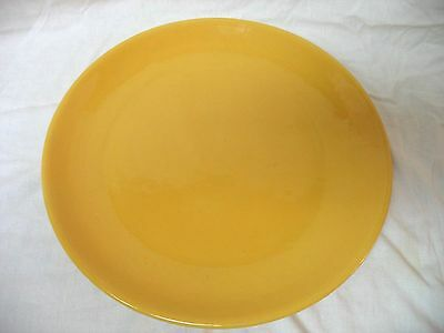 "Large 14 3/4"" Bauer Chop Plate - Yellow"