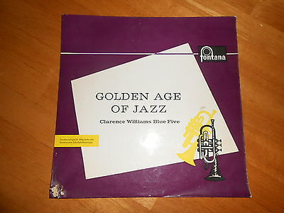 """Golden Age Of Jazz - Clarence Williams Blue Five(L. Armstrong) - Rare 10"""" Press"""