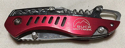 Buck Knives Whitaker Summit Knife 760 - RED
