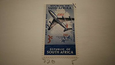 South Africa  Airmail Stamp  5 Cent Special