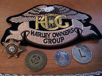 Harley Davison HOG Patch new AND BONUS PIECES CHECK IT OUT