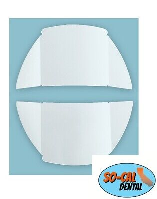 P&C Pelton and Crane LFII LFIII Replacement Dental Light Lens Shield Cover 2pc