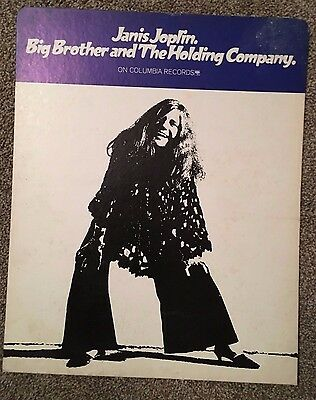 RARE ~ Janis Joplin ~ Big Brother & Holding Company ~ Psych ~ Promo  ~ Poster