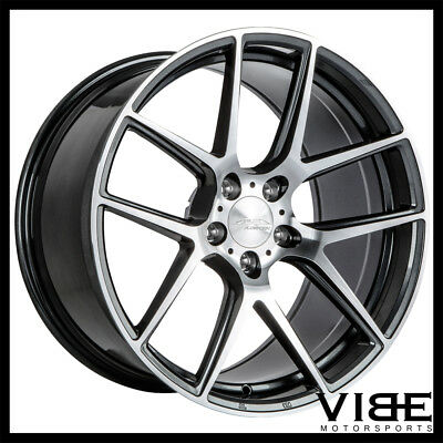 19 Ace Aff02 Flow Form Silver Concave Wheels Rims Fits Cadillac Cts