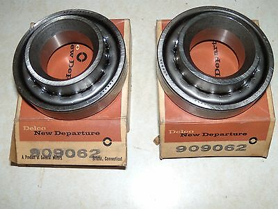 2 NOS 909062 Front Inner Wheel Bearings Cadillac Buick 1941-1956, Olds 1953-1958