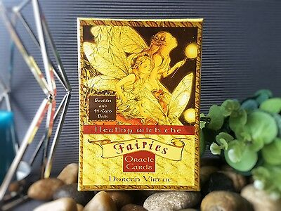 Healing with the Fairies Oracle Cards by Doreen Virtue Tarot Deck
