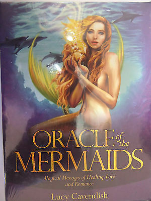 Oracle of the Mermaids Lucy Cavendish Cards Tarot Deck
