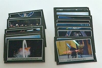 Star Wars ROGUE ONE Mission Briefing Black Parallel Lot of 35 Trading Cards