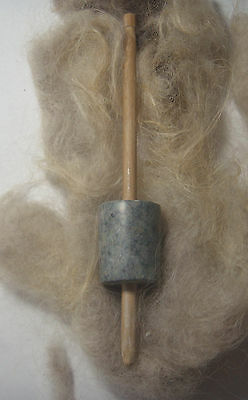 Viking - Celtic Drop Spindle with Soapstone Whorl -- 2oz- 55gm
