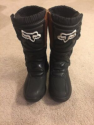 Fox Racing Comp 3 Youth size 4 boots