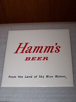 Hamms Beer Sign From The Land Of Sky Blue Waters Plexi Replacement Part