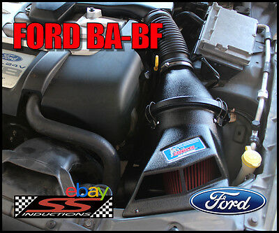 Ford Ba-Bf Standard V8 (None Boss) - Ss Inductions Growler Cold Air Induction
