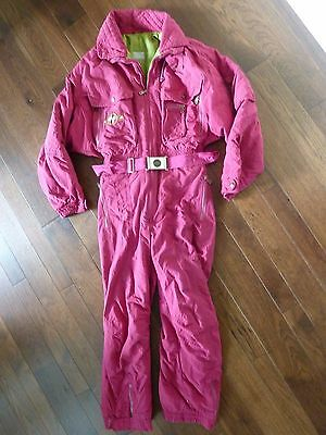 Bogner Vintage Mens Helicopter Power Skiing Snowsuit~Excellent Condition~Size 42