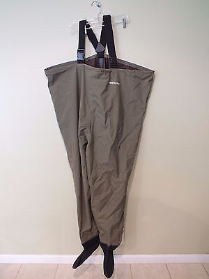 TideWater Breathable Chest Waders Neoprene Stockingfoot High Quality XLS