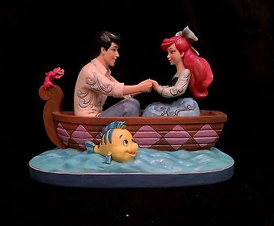 Jim Shore Disney Traditions The Little Mermaid Ariel and Eric- Disney Princess!
