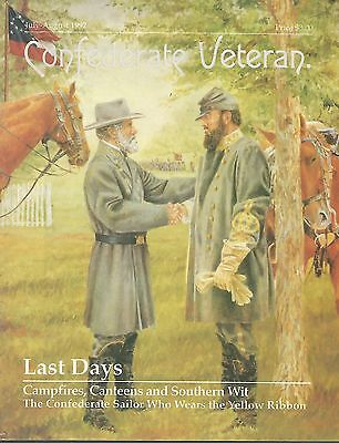 Confederate Veteran Magazine-July-August 1992 - Last Days - Jackson And Lee
