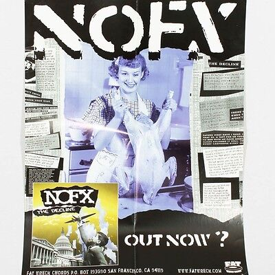 NOFX The Decline 1999 Poster Fat Records