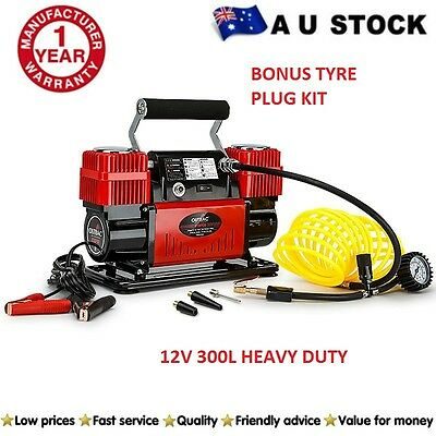 Air Compressor 12v 4x4 OUTBAC Car Tyre Deflator 4wd Inflator Portable 300L/min