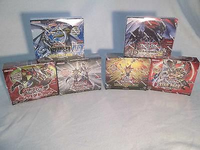 Yu-Gi-Oh Display Auswahl Duelist Pack Battle City Millenium Dragons of Legend