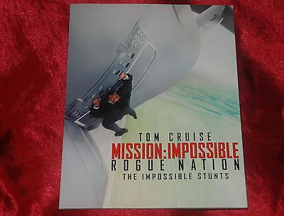 Oop Limited Exclusive Mission Impossible Rogue Nation Photo Book!!