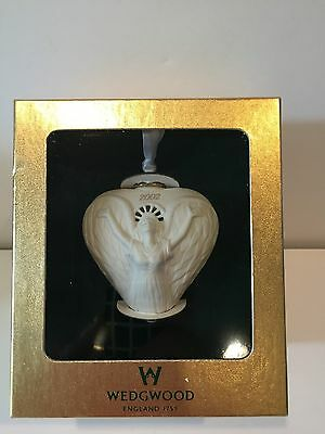 2002 Wedgwood Christmas Ornament - Pierced Angel